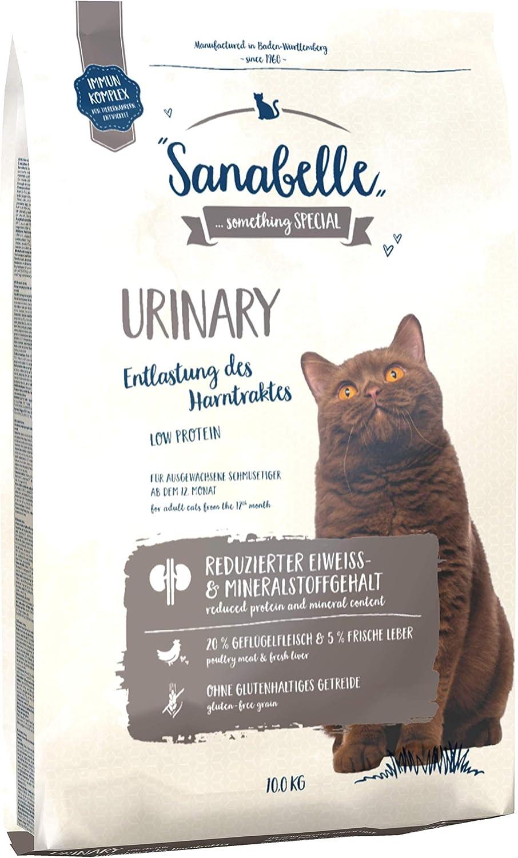 Sanabelle Urinary | Comida Seca para Gatos Adultos De Todas Las Razas | para Apoyar El Tracto Urinario 10500 g