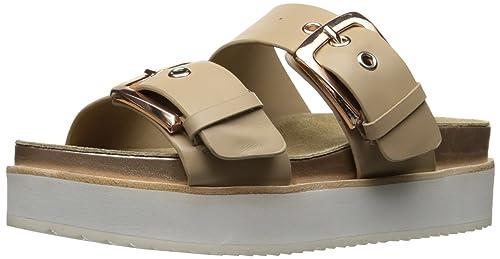 f516a3e5ecb4 Steve Madden Women s Pate Platform Slide Sandal