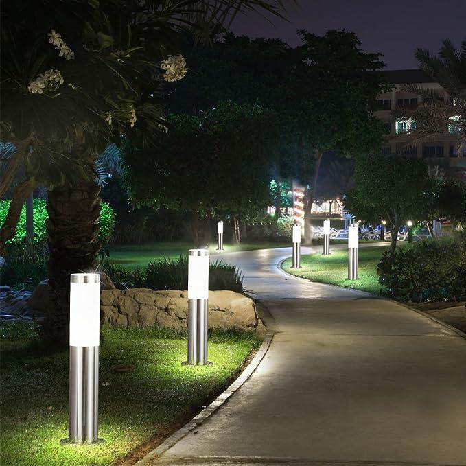 Außen Steh Stand Lampen Garten Einfahrt Hof Beleuchtung Wege Leuchten Anthrazit