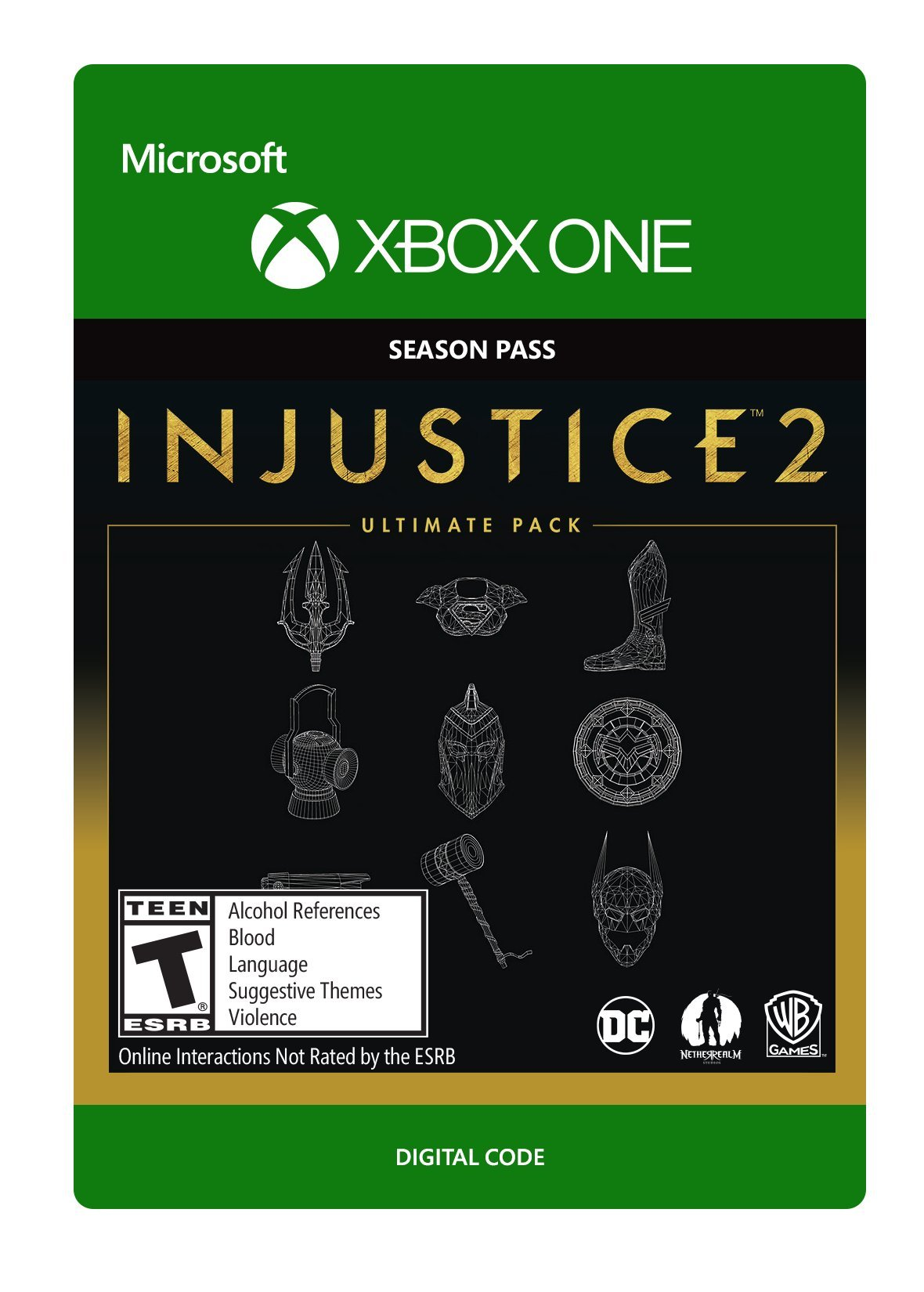 Injustice 2: Ultimate Pack - Xbox One [Digital Code]