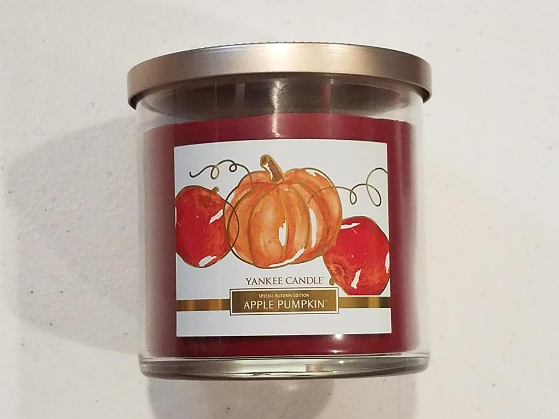 YANKEE CANDLE 2 Vaso de Mecha Apple Calabaza tamaño Mediano, 12.5 Ounces: Amazon.es: Hogar