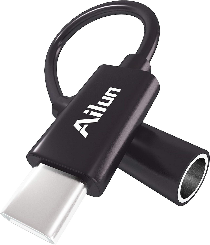 adaptador USB C a 3.5mm Hi-Res macho a hembra