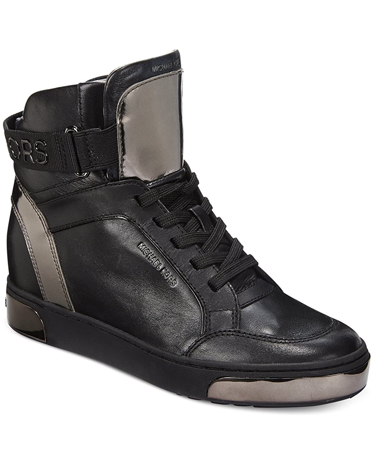 f563338c78 Amazon.com | Michael Michael Kors Pia High-Top Leather Fashion ...
