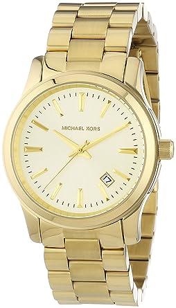 d8c47212d2a8 Amazon.com  Michael Kors Women s MK5160 3 Hand Runway Watch  Michael Kors   Watches