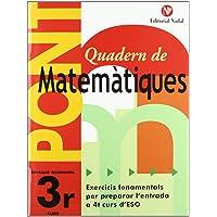 Quadern Pont Matematiques 3ºeso CataluÑa