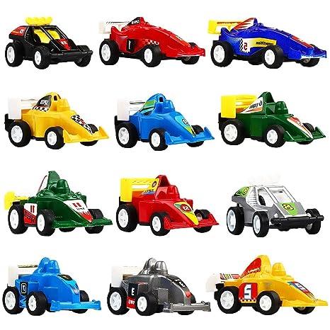 Juguetes para niños de 2 a 6 años, TISY Coches para niños Coches para carreras pequeños Juego ...