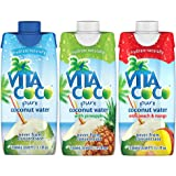 Vita Coco Coconut Water, Variety Pack, 11.1 Ounce (Pack of 12)