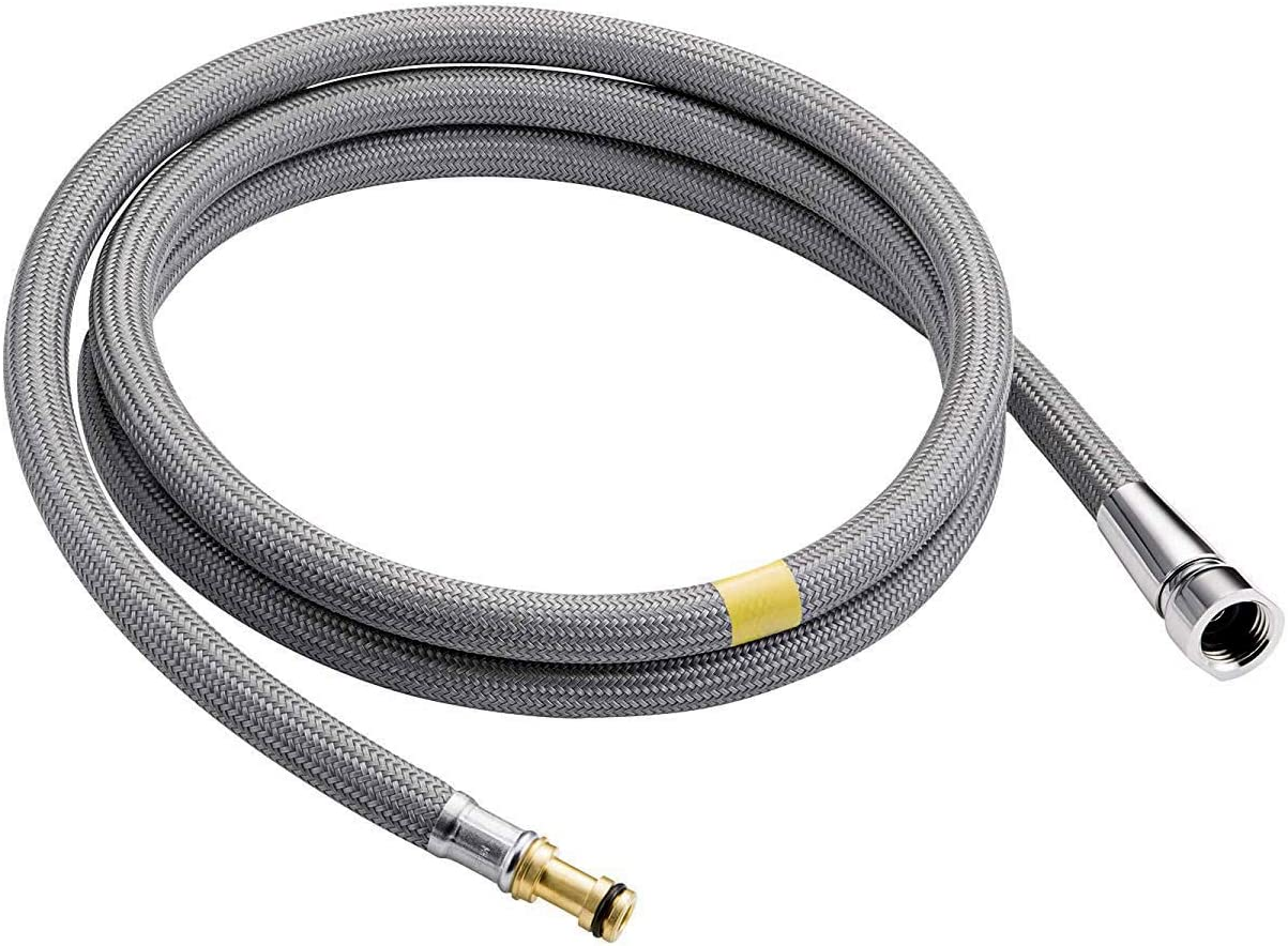 U Bcoo Pull Down Kitchen Faucet Hose 68 Inch Bathroom Sink Quick Connector Faucet Spray Hose Replacement Parts Kitchen Bathroom Fixtures Amazon Canada