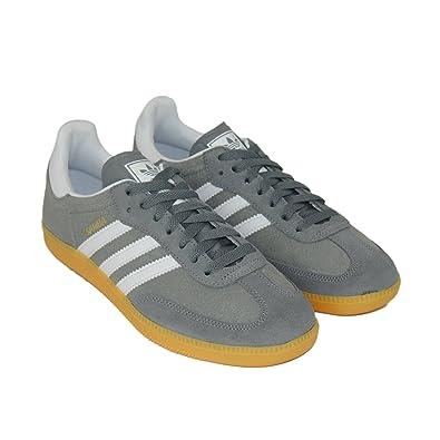 cee7fe717 Adidas Mens Samba Grey Suede Trainers Size 7.5 UK: Amazon.co.uk ...