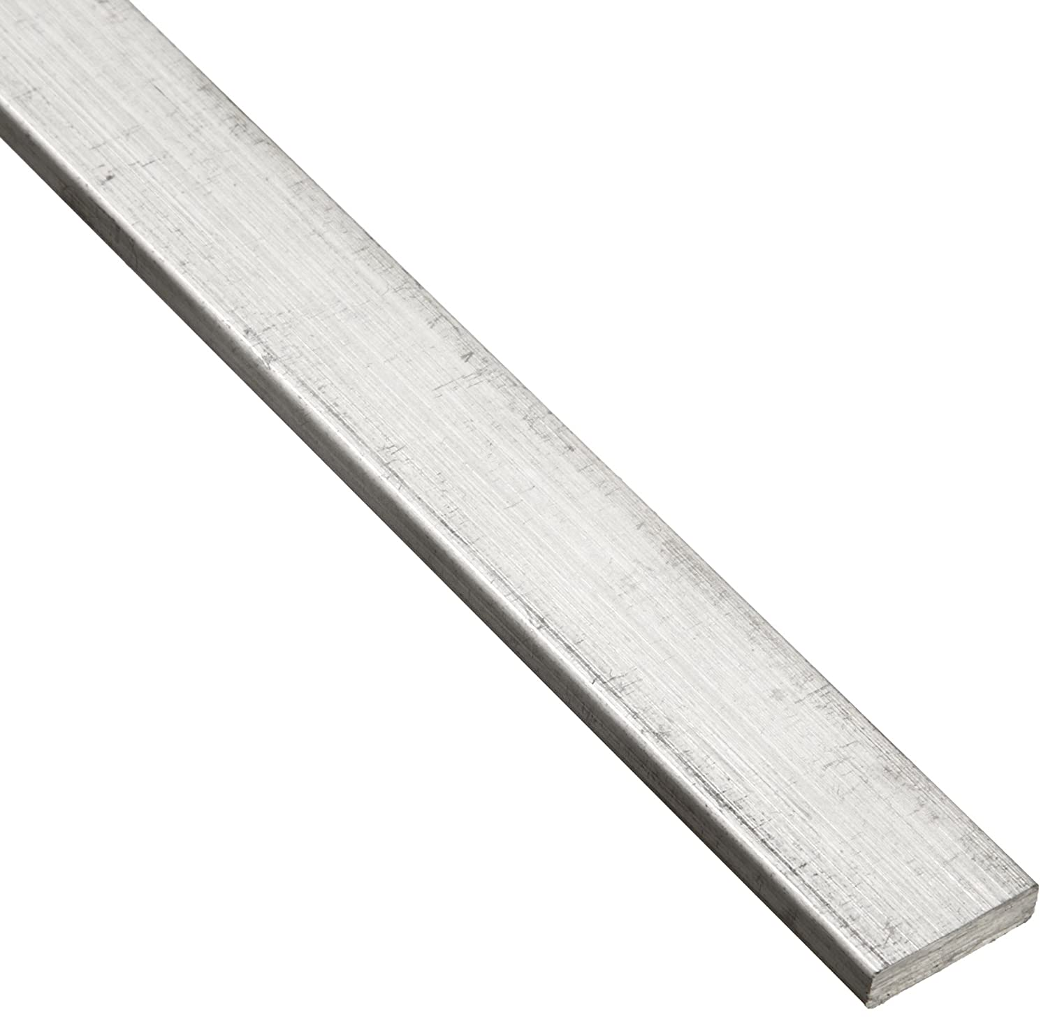 6061 Aluminum Rectangular Bar, Unpolished (Mill) Finish, T6511 Temper, AMS QQ-A-200/8/ASTM B221, 5/8' Thickness, 2-1/4' Width, 36' Length 5/8 Thickness 2-1/4 Width 36 Length Small Parts Inc F61.582.14T6511x36
