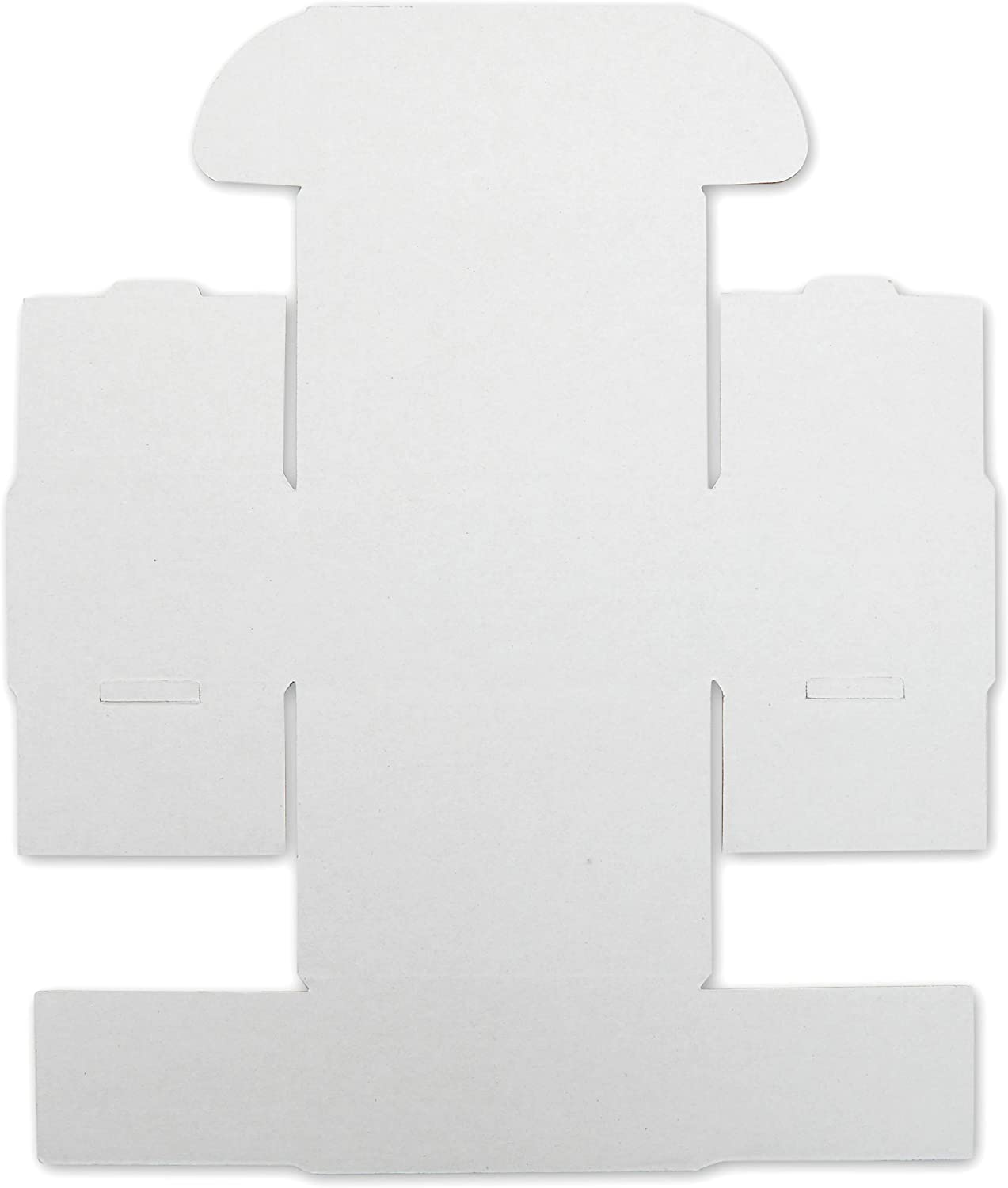 White Corrugated Mailer Boxes Shipping Supplies 3 x 4 x 2 in, 50 Pack