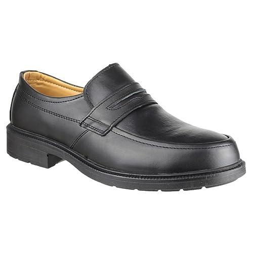 7e3c3245244 Amblers Safety Mens FS46 Mocc Toe Safety Slip On Shoe