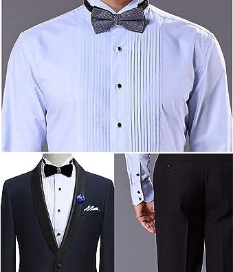 Amazon.com: Jstyle Juego de gemelos para camisas de traje ...