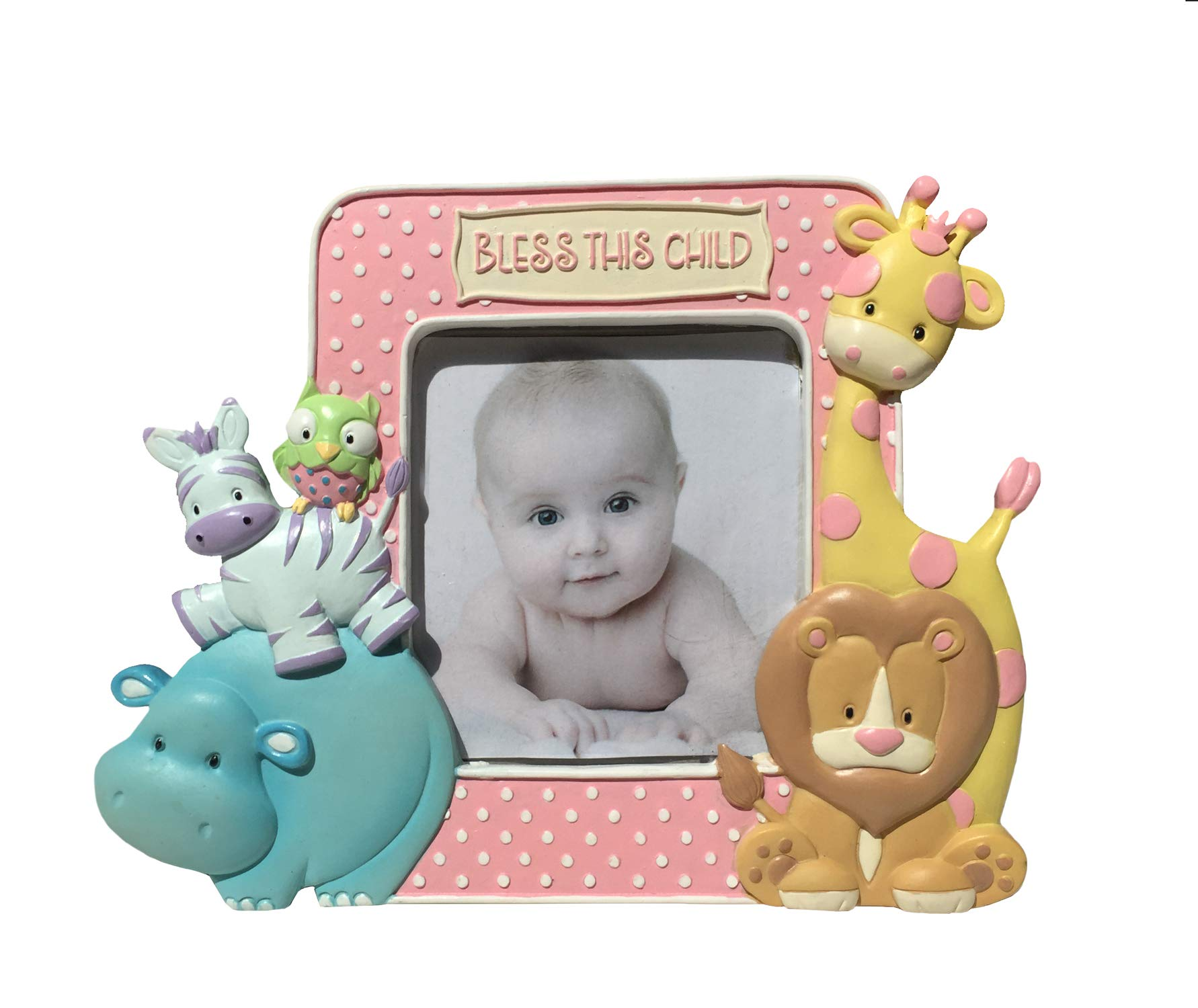 Noah's Pastel Pairs''Noah's Ark Themed'' Standing Picture Frame