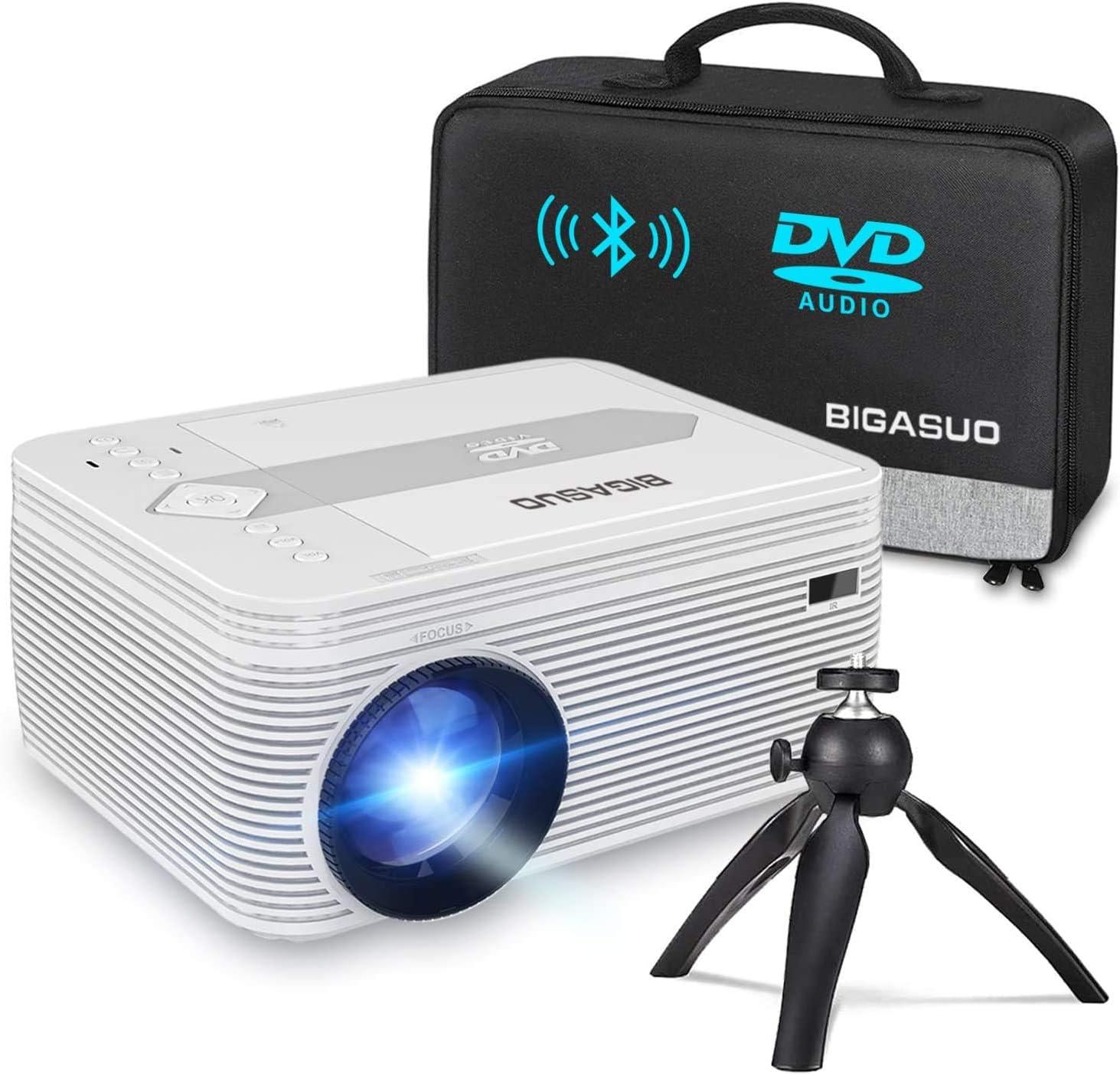 Bigasuo Bluetooth Full HD Projector