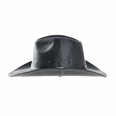 WITHMOONS Cowboy Cappello a tesa larga Faux Leather Indiana Jones Hat  Outback Hat Fedora CD8859 (Grey)  Amazon.it  Abbigliamento 256179399df1