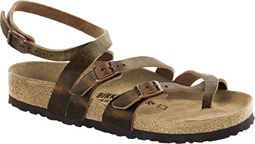 Birkenstock Womens SERES Real Leather Sandals Regular Camberra Old Tabacco  Size EU 36 - UK L3 e3f66f2096