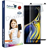 Digikart Mobile Screen Protector Guard Edge to Edge Premium Black Tempered Glass for Samsung Note 9