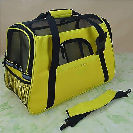 d863baa833c8 Amazon.com : LIAOYLY Portable Pet Bag Backpack Dog Cat Carrier ...