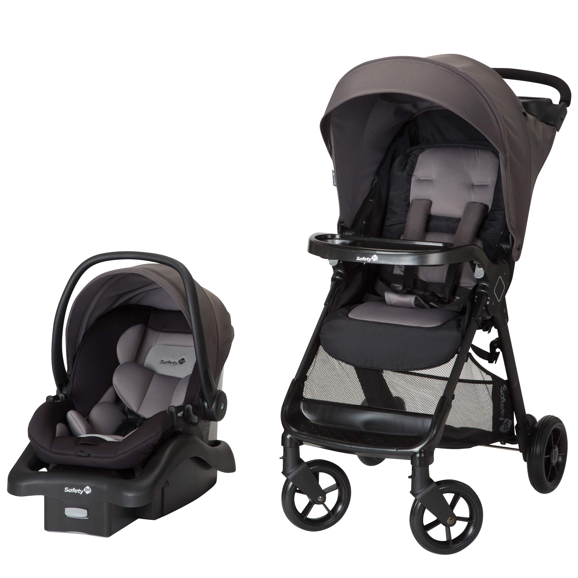 Safety 1st Smooth Ride Travel System with OnBoard 35 LT Infant Car Seat, Monument 2 by Safety 1st