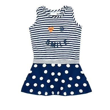 Feetje Babykleding.Feetje Baby Girls A Line Sleeveless Tracksuit Blue 9 12 Months