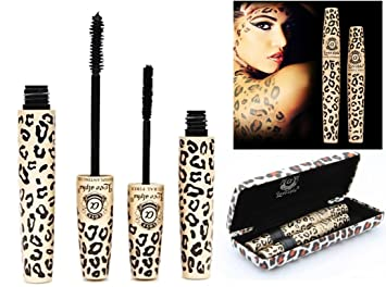0ad0687cc69 LOVE ALPHA Moodstruck Black Mascara Transplanting Gel + Natural LENGTHENING  Fibers in Animal Print Case UK