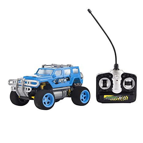 Amazon Com Blue Sport Utility Vehicle Toy Car Rc Remote Control