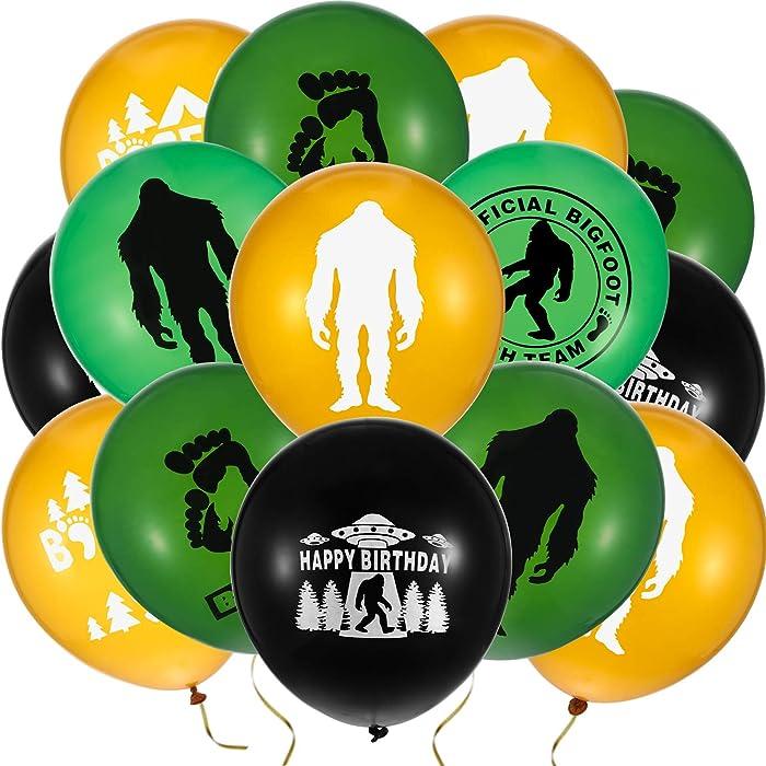 The Best Sasquatch Birthday Party Decor