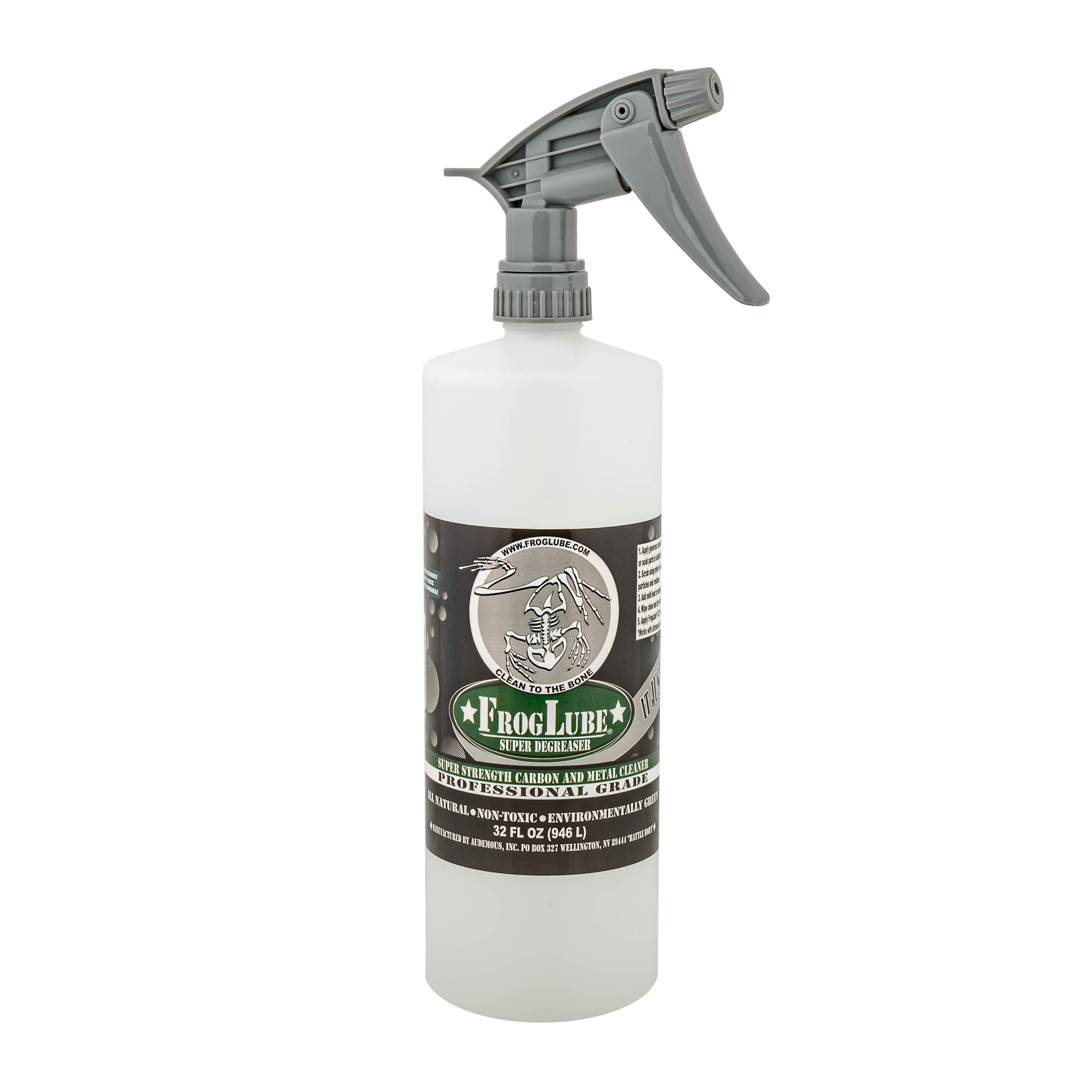 FrogLube Professional Grade Super Degreaser, 32 oz. Pump Spray by Frog Lube