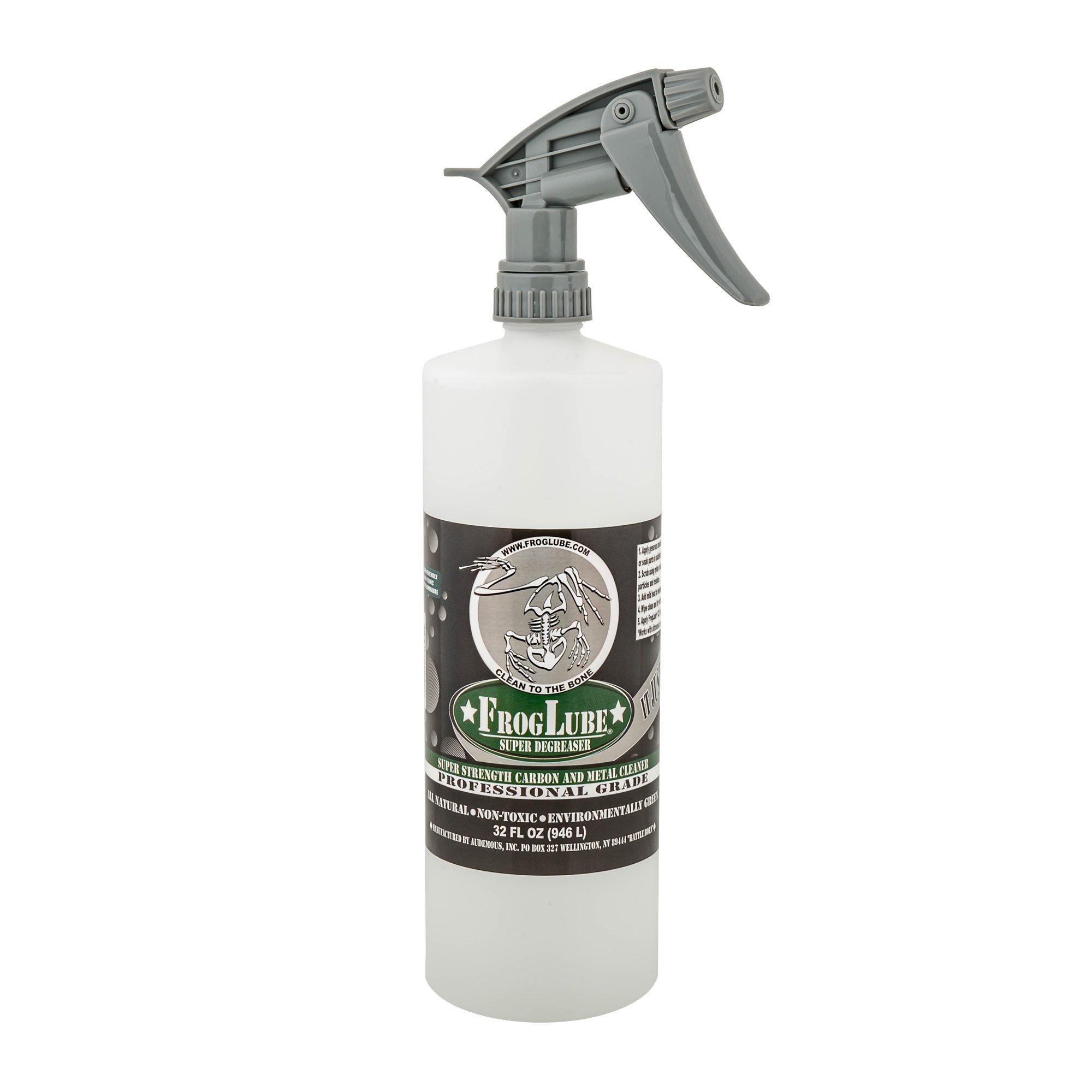 FrogLube Professional Grade Super Degreaser, 32 oz. Pump Spray