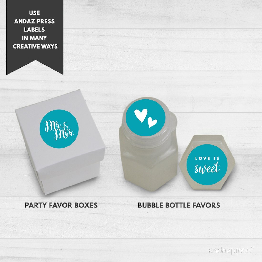 Amazon.com: Andaz Press Chocolate Drop Labels Trio, Fits Hershey\'s ...