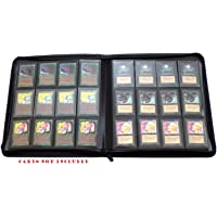 docsmagic.de Premium 12-Pocket Playset Zip-Album Black - 480 Card Binder - Magic: The Gathering - Pokemon - YU-Gi-Oh! - Classeur pour Jeu de Cartes Noir