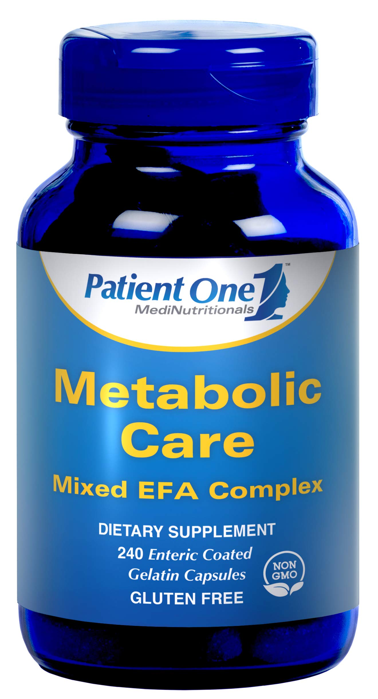 Patient One Metabolic Care - 240 Gelatin Capsules by Patient One (Image #1)