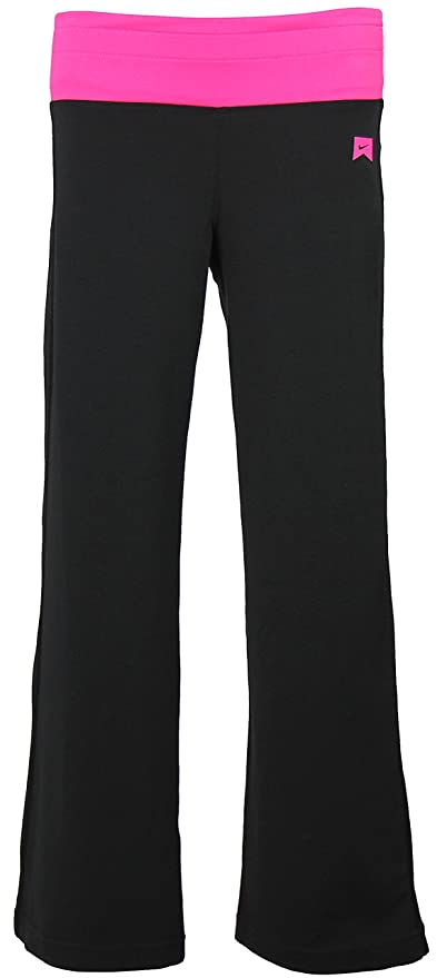 Amazon.com : Nike Girls Action Yoga Pants - Black (Medium ...