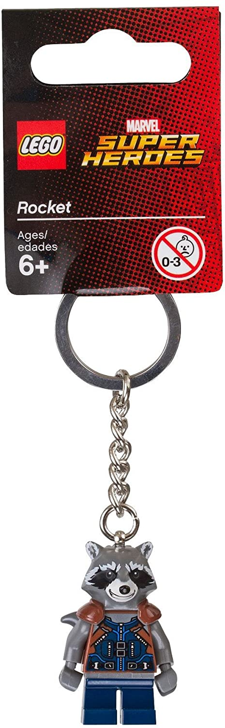 LEGO 853708 Marvel Super Heroes Rocket Raccoon Key Chain