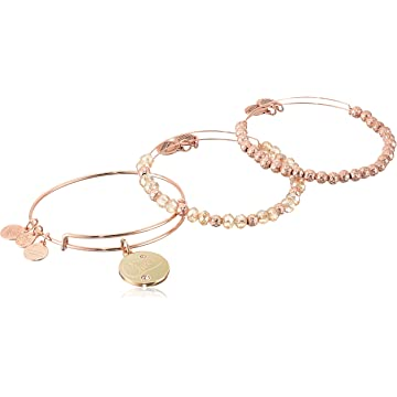 top best Alex and Ani Women's Cheers Color Infusion Champagne