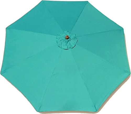 Formosa Covers 9ft Umbrella Replacement Canopy 8 Ribs
