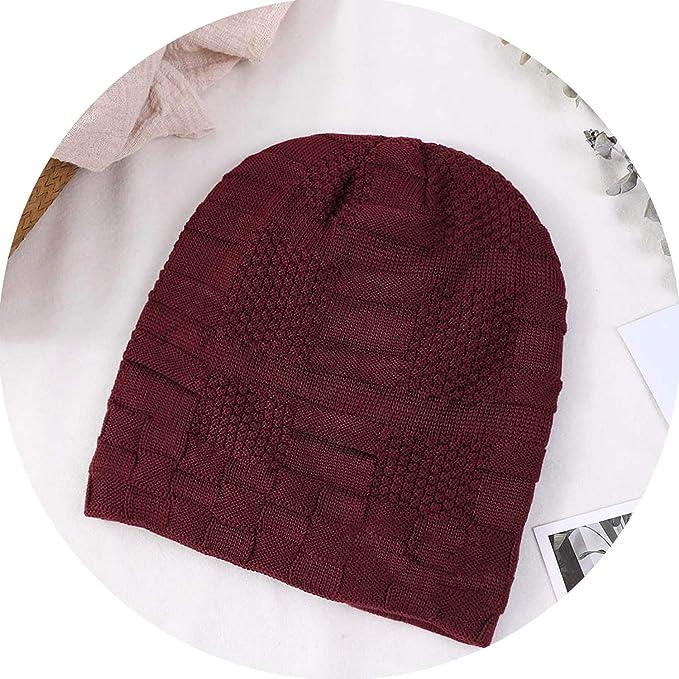 71ec24d9687 2018 New Boys Men Winter Hat Knit Skullies Beanies Cap Men Hats Warm Fur  Beanie Bonnet