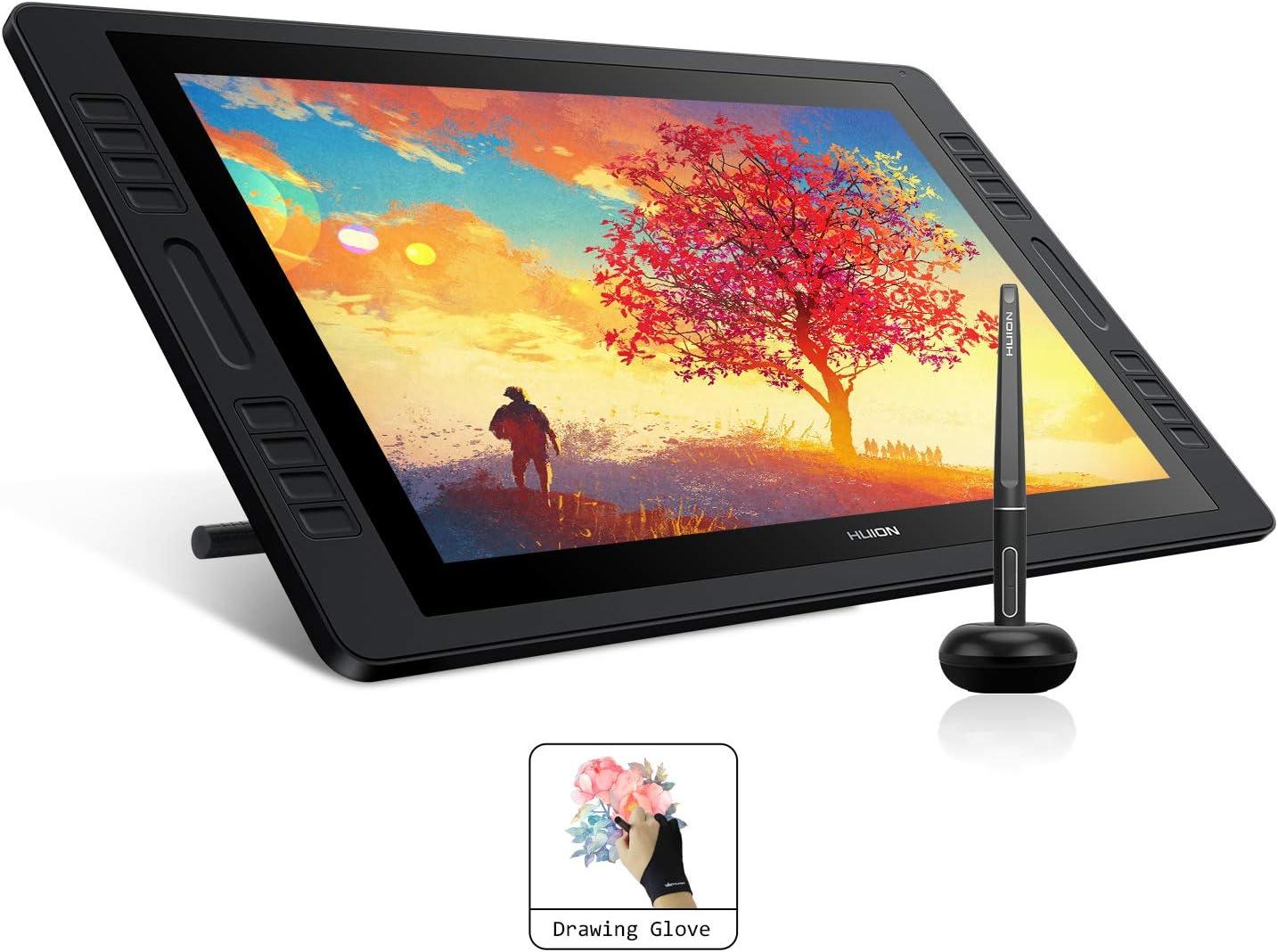 HUION Kamvas Pro 20 2019 Tableta gráfica con Pantalla: Amazon.es ...