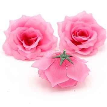 Amazon Silk Flowers Wholesale 100 Artificial Silk Rose Heads