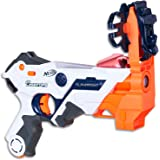 NERF - Laser Ops - Electronic AlphaPoint Blaster - The Ultimate Laser Game - Blaster, Armband, Solo Attachment - Kids Toys & Outdoor games - Ages 8+