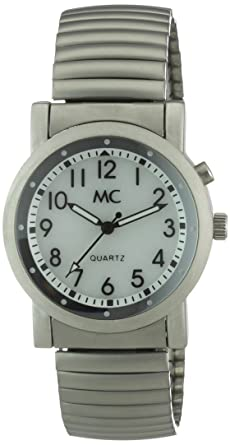 Armbanduhr Mit Beleuchtung | Mc Timetrend Herren Armbanduhr Analog Quarz Beleuchtung Flexband
