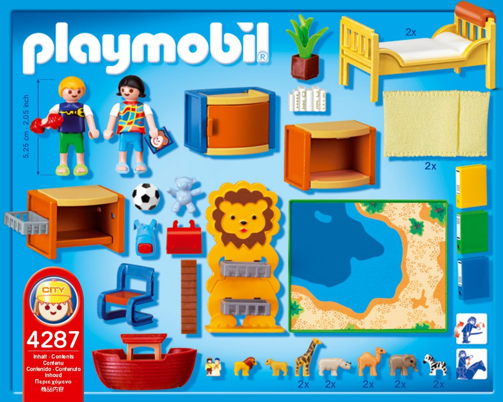 Amazon.de:Playmobil 4287 - Kinderspielzimmer