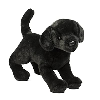 Douglas Chester Black Lab Plush Stuffed Animal: Toys & Games