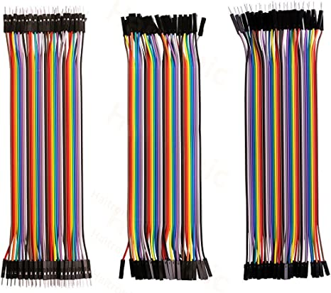 20x Cables Dupont 10cm Male//Male pour BreadBoard Arduino Raspberry Pi
