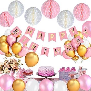 Mikafen Geburtstag Dekorationen Happy Birthday Geburtstag
