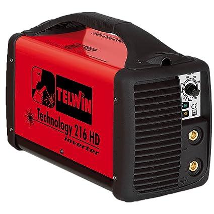 Telwin Technology 216 HD MMA/Wig sudor dispositivo electrodo sudor ...