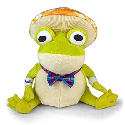 Fedex Enchanted Forest Green Recycle Frog