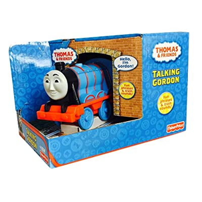 Fisher Price Thomas and Friends Talking Gordon: Toys & Games [5Bkhe0501816]