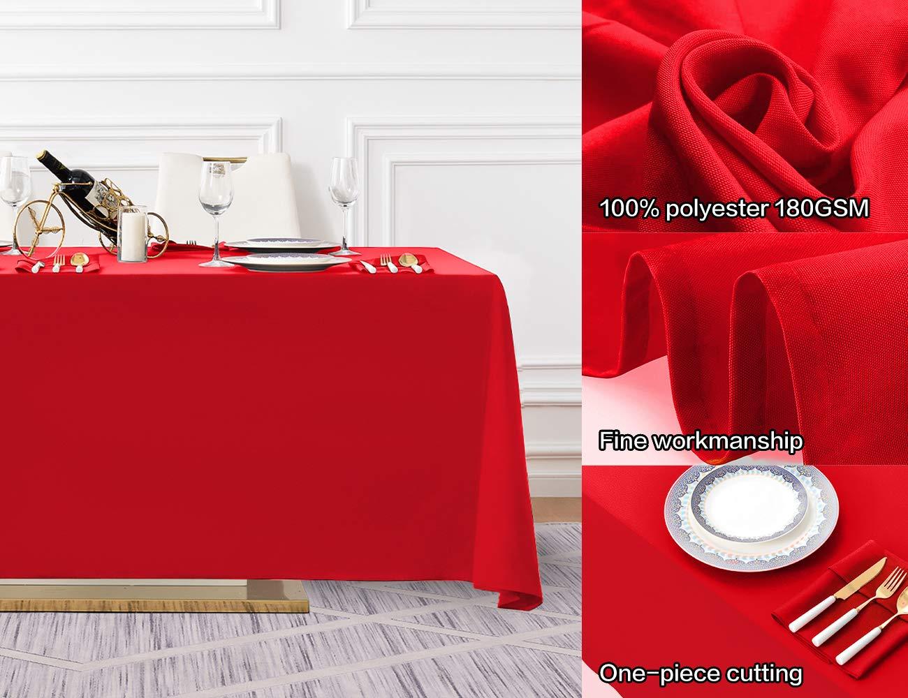 Amazon.com: Surmente - Mantel rectangular de poliéster para ...